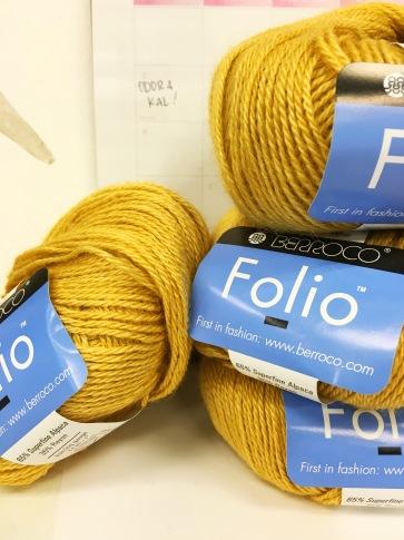 Odora Shawl Knit-along Yarn