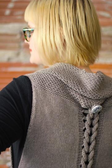 Interplait Vest by Courtney Spainhower for Holla Knits