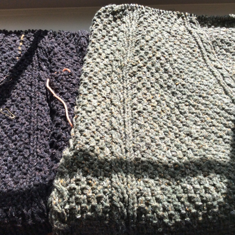Converting A Seamed Sweater To Seamless Knitting And Crochet