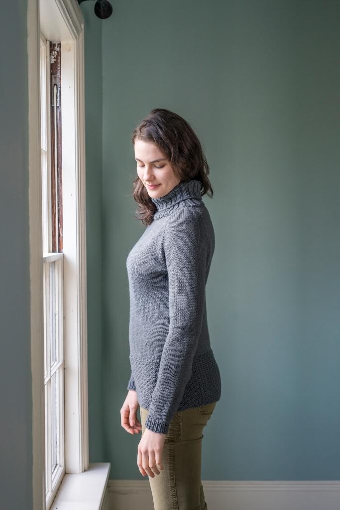 Korina Sweater Cecily Glowik MacDonald Portfolio Vol 2 Berroco Vintage