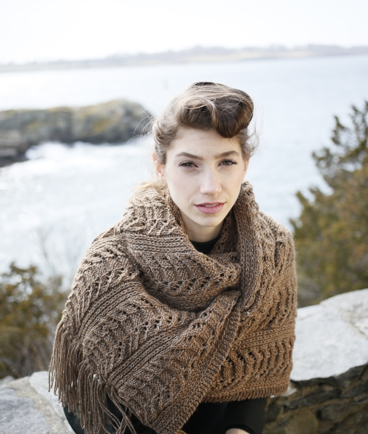 Free Baby Socks Knitting Pattern : Knit a Super Scarf: Chunky Scarf Patterns from Berroco