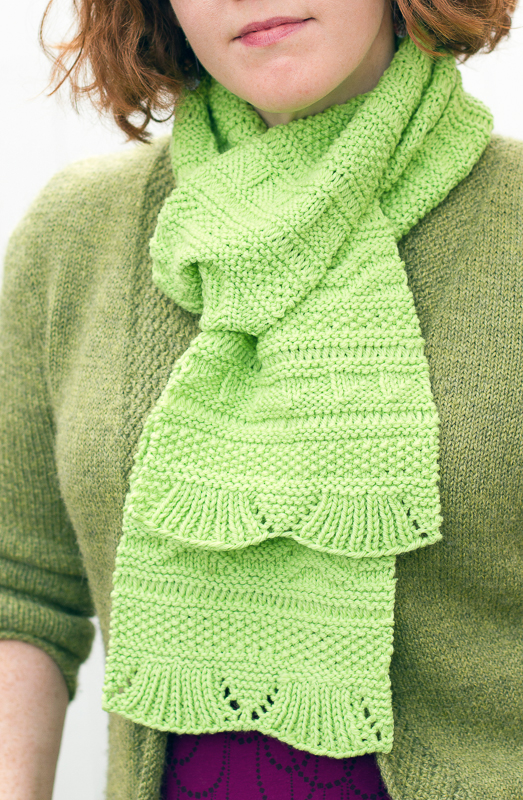 Complicated Knitting Patterns : Knitting for Both Sides: Reversible Knitting with Scarves