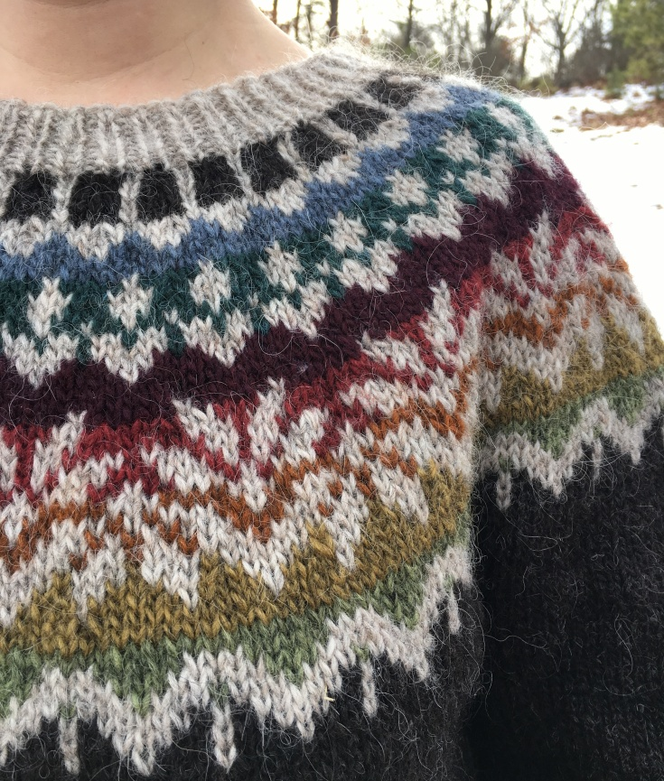bdfd50e2815bf Adding Short Rows to Yoke Sweaters – Knitting and Crochet techniques ...