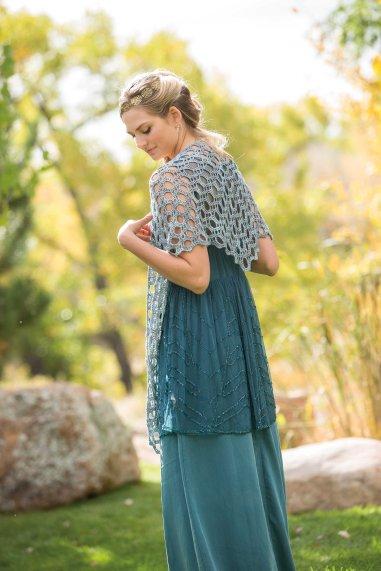 Dover crochet shawl by Sara Kay Hartman