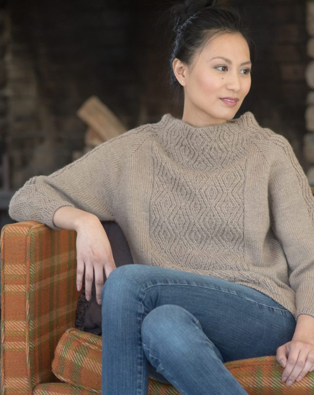 Choosing a Size for Seamless Raglan Sweaters – Knitting and
