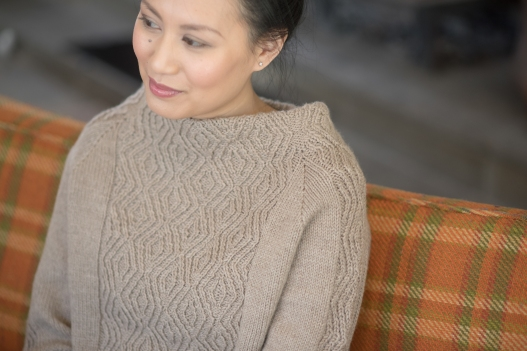 Isthmus Pullover by Allison Jane in Berroco Ultra Wool