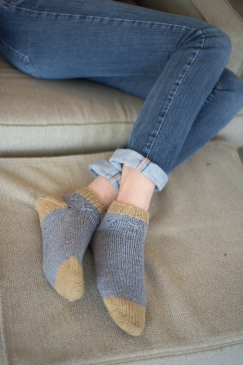 Hartland Slipper Socks by Amy Christoffers