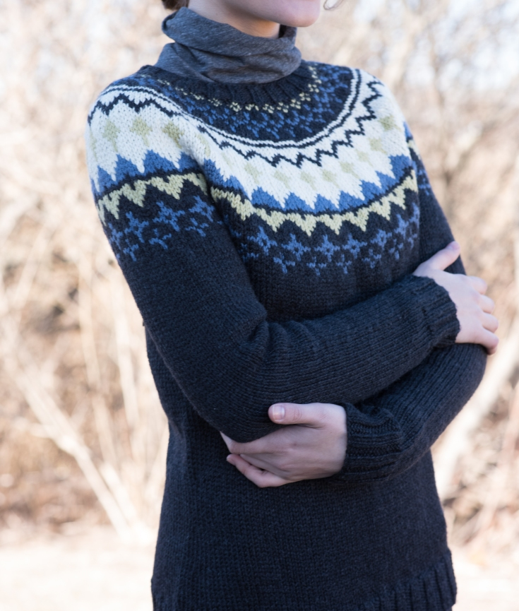 How To Knit A Sweater From The Bottom Up Cast On Large Number Of