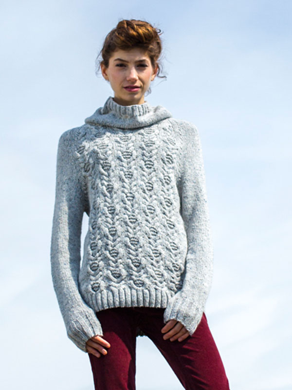 Woodbine by Amy Christoffers in Berroco Tuscan Tweed